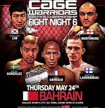 CW FIGHT NIGHT 6 - BAHRAIN